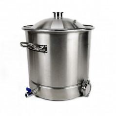 """Бак """"Люксстайл"""" 37 литров кламп 2 дюйма под ТЭН 2"""