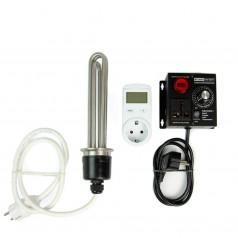ТЭН 3 кВт с плавным терморегулятором и ваттметром