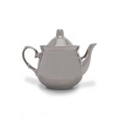 Заварочный фарфоровый чайник «Серебряный рубин»