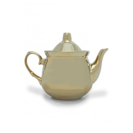 Заварочный фарфоровый чайник «Золотой рубин»