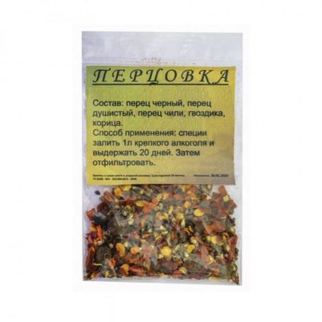 Набор трав и специй для настаивания Перцовка на 1 литр