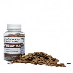 Щепа Дубовая Whiskey Malt, специальный обжиг (Франция), 50 гр.