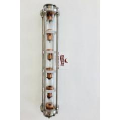 Колпачковая колонна (5 тарелок) под кламп 2 дюйма