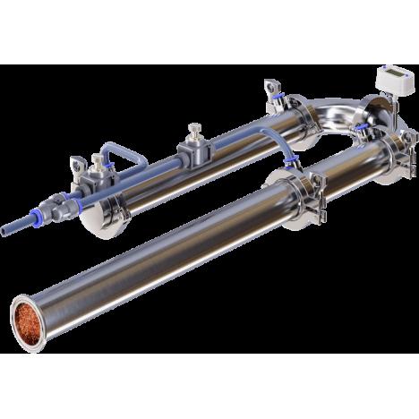 Ректификационная колонна 2 дюйма с узлом отбора по жидкости без бака