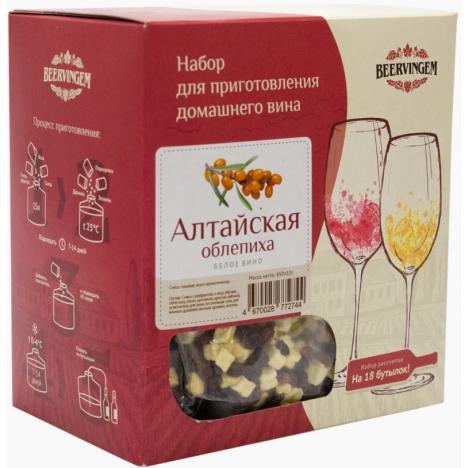 """Набор для приготовления домашнего вина Beervingem """"Алтайская облепиха"""" на 13,5 л"""