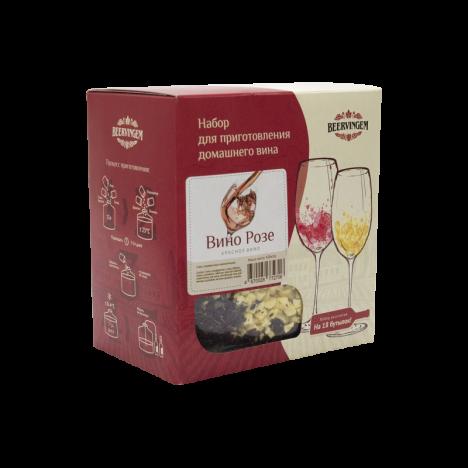 """Набор для приготовления домашнего вина Beervingem """"Вино Розе"""" 13,5 л"""